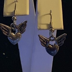 Sedalia Designs Jewelry - Winged Heart Earrings